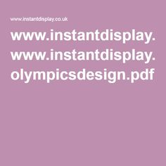 www.instantdisplay.co.uk olympicsdesign.pdf