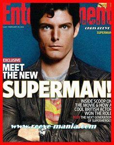 Christopher Reeve as Superman Superman Love, Superhero Superman, Superman Man Of Steel, Superman Comic, Superhero Movies, Comic Book Superheroes, Comic Books, Marvel Dc, Christopher Reeve Superman