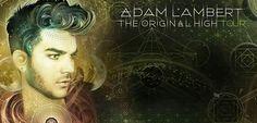 Adam Lambert TOH tour 2016.