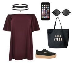 """""""Untitled #15"""" by timiwg on Polyvore featuring River Island, Carbon & Hyde, Humble Chic, Puma, Muse, Venus and plus size dresses"""