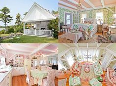 Cheers to Kirstie Alley!  The surprise DWTS finalist is looking to unload the 2,048-square-foot vacation retreat she bought in 2003 for $1.15 million and then promptly drenched in Laura Ashley-style decor.  There are fireplaces to warm up by and cozy nooks to hunker down in during those cold New England winters, plus a deck, gardens and outdoor entertaining space to enjoy during the delightful Maine summers. There is also a carriage house on the woodsy grounds and marble countertops in the…