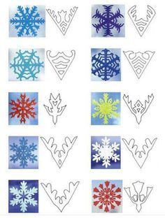 paper snowflakes patterns - Buscar con Google