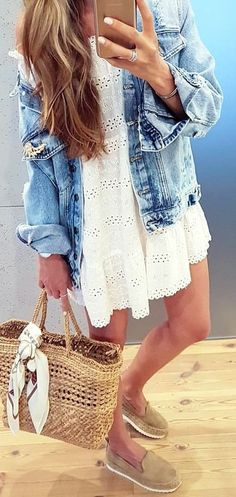 Denim with anything...