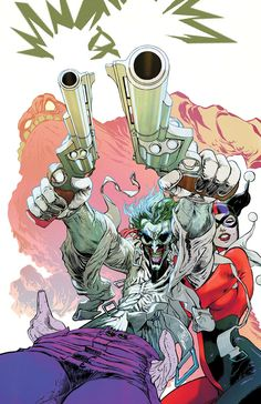 Gotham City Sirens #24 cover by Guillem March