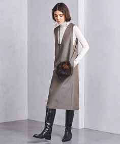 Stylish Work Outfits, Simple Outfits, Fall Outfits, Fashion Outfits, Womens Fashion, Latest African Fashion Dresses, Fashion Sewing, Winter Dresses, Autumn Winter Fashion