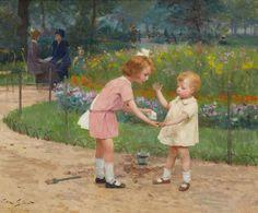 Victor Gilbert - Jardin du Luxembourg