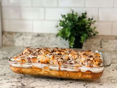Easy French Toast Casserole with Cinnamon Rolls