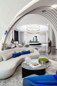 Luxury Home Decor, Luxury Homes, Dubai Houses, Sales Office, Lounge Design, Hospitality Design, Ceiling Design, Decoration, Interior Design