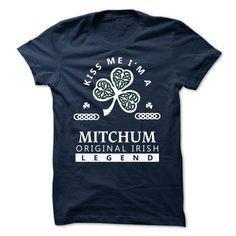 MITCHUM - KISS ME I\M Team - #wifey shirt #tshirt customizada. CLICK HERE => https://www.sunfrog.com/Valentines/-MITCHUM--KISS-ME-IM-Team.html?68278