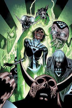 Black Lantern Corps by Patrick Gleason and Joe Jusko