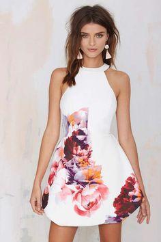 Keepsake To the End Floral Dress   Shop Dresses at Nasty Gal