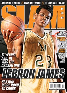 SLAM 159: Miami Heat LeBron James appeared on the cover of the 159th issue of SLAM Magazine (2012).