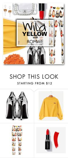 """We will never be anything but wild"" by sunshineb ❤ liked on Polyvore featuring Yves Saint Laurent, Moschino, Chanel, Illamasqua and Dolce&Gabbana"
