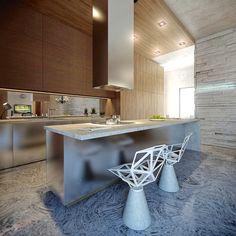 *stunning* modern kitchen