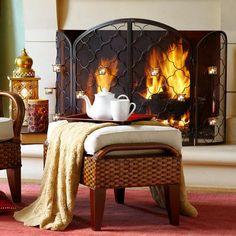 Candra Fireplace Screen Pier 1