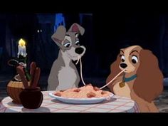 """""""Side by side with your loved one, you'll find enchantment here."""" {Lady and the Tramp}"""