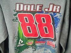 Dale Earnhardt Jr Mens L Sweatshirt  National Guard Mountain Dew Nascar Raceing #chase #HendrickMotorsports