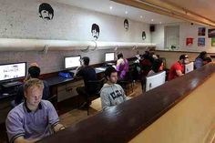 Check out our Internet Cafe situated downstairs at Hatters Liverpool. Free Wifi available in communal areas!
