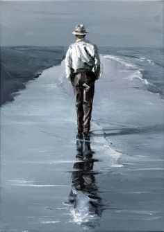 "Victor Bauer: ""Walking Man"""