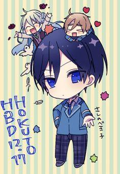 Hokuto, Wataru, & Tomoya | Ensemble Stars! Ensemble Stars, Anime Chibi, Photos, Pictures, Funny Cute, Cute Boys, Idol, Fan Art, Image Random