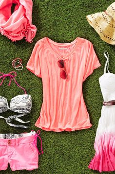 In The Pink: Go Girly in Soft & Bright Takes On The Hue @Jan Wilke Russell-Snider Eagle Outfitters