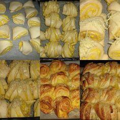 sajtos 3 szögek és kiflik recept Bread, Vegetables, Food, Brot, Essen, Vegetable Recipes, Baking, Meals, Breads