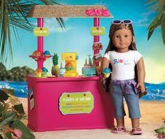american girl doll pictures | American Girl: Meet Kanani™ the 2011 Girl of the Year! (Review)