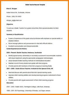 Resume Format Printable 2 Resume Format Pinterest Resume
