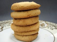 3 Ingredient Coconut Flour Cookies by @TheCoconutMama (sub butter for palm shortening) #AIPaleo