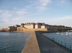 Saint-Malo, France.