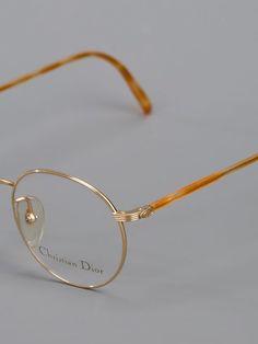 5696f96ea4d1 Christian Dior Vintage Round Frame Glasses - Farfetch