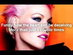 Pink -Try (Lyric Video) - YouTube