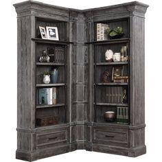 Library Bedroom, Library Wall, Shaker Furniture, Home Decor Furniture, Rustic Furniture, Bookshelves Built In, Bookcases, Bookcase Door, Wooden Main Door Design