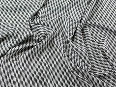 cf65d9d0ed9 John Kaldor Geometric Print Microfibre Dress Fabric Black & White - per  metre