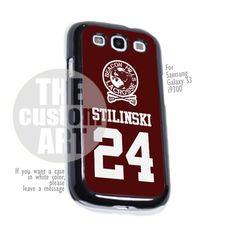 Teen Wolf Inspired Stiles Stilinski Jersey Beacon Hills Lacrosse - For Samsung Galaxy S3 i9300 | TheCustomArt - Accessories on ArtFire