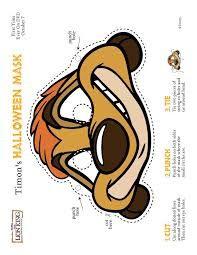 mascar antifaz pumba - Cerca amb Google