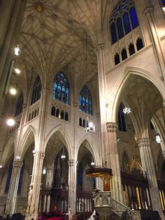 St Patrick's Cathedral, NYC St Patrick, New York City, Cathedral, Saints, Nyc, Santos, New York, Cathedrals, Ely Cathedral