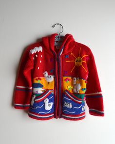 happy peruvian baby sweaters! I used to have some JUST like this! Aww!