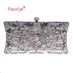 Fawziya Transparent Bag Floral Clutch Bags For Girls Handbags Wholesale Purses
