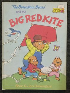 The Berenstain Bears - The Big Read Kite - 1992 by HECTORSVINTAGEVAULT on Etsy