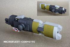 MICROFLEET-Corvette   by ska2d2