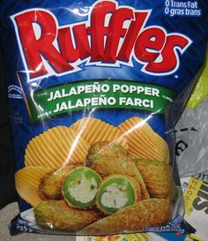 New Ruffles Flavour: Jalapeno Poppers