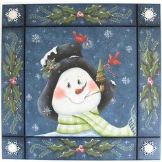 Snowman by artist Haughey, Chris