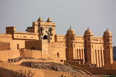 "Amber Fort In Jaipur - It Is built by Raja Man Singh with additions by sawai Jai Singh , Time Schedule;  9:30AM To 4:30 ""Everyday"""
