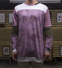 Patchwork Long sleeve Long Sleeve, Sleeves, Mens Tops, T Shirt, Clothes, Fashion, Scrappy Quilts, Supreme T Shirt, Outfits