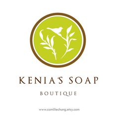 Logo Design for Kenia's Soap Boutique by Camille Chung