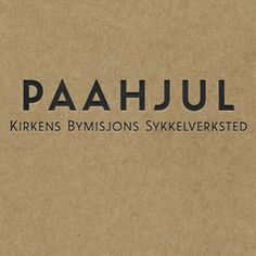 """The """"Paa Hjul"""" cycle workshop offers bicycle repairs, while substance abusers gain the experience they will need in order to take part in working life. Kirkenes, Gain, Identity, Workshop, Bicycle, Company Logo, Life, Atelier, Bike"""