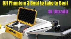 DJI Phantom 3 Boat to Lake to Boat in 4K UltraHD