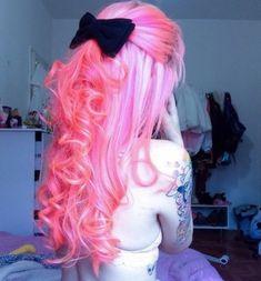 Pink hair #Pink #Hair