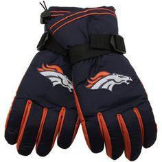 Denver Bronco Navy Blue Second Season Player Winter Gloves